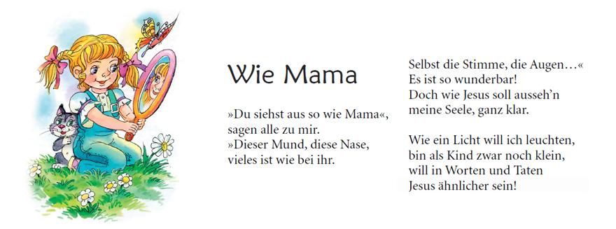 Kinderbuch: Auf Mamas Schoss - Serena Zempel